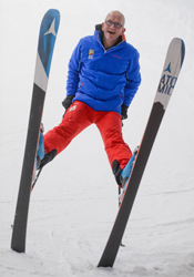 Eddie the Eagle searches for hidden talent