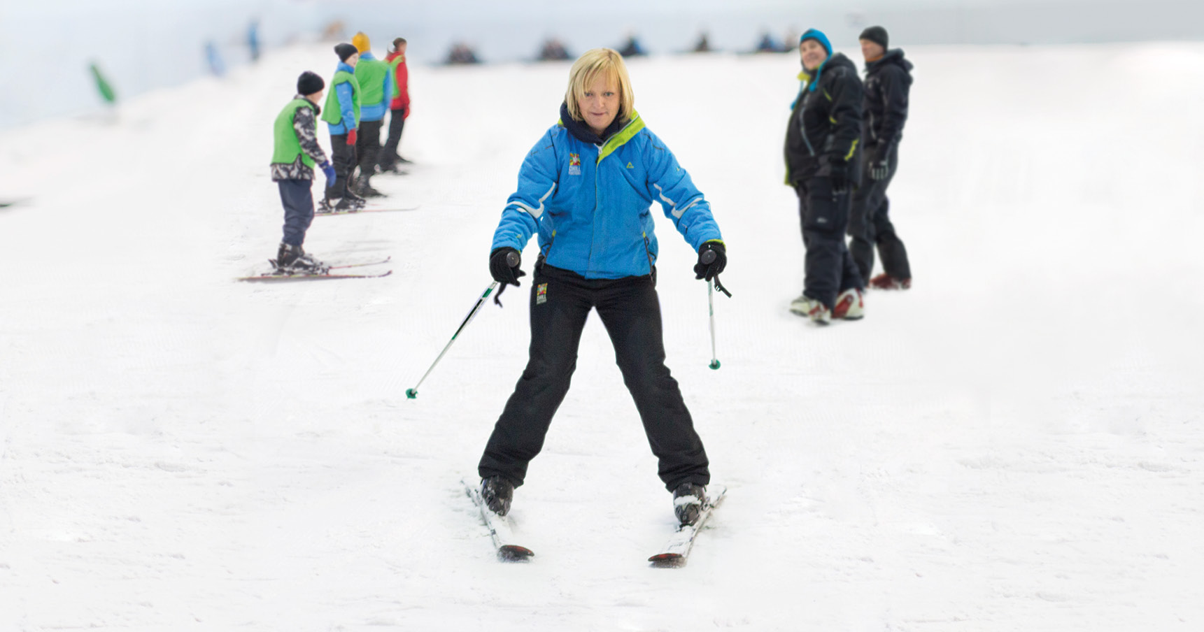 Learning to ski at 40? Why it's never too late to learn a new skill