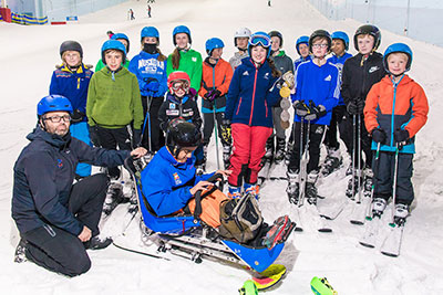 Gold Medal GB Paralympian Menna Fitzpatrick Returns to Chill Factore
