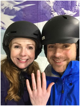 Couple Get Engaged at Chill Factore to Become Snowboarding Buddies for Life