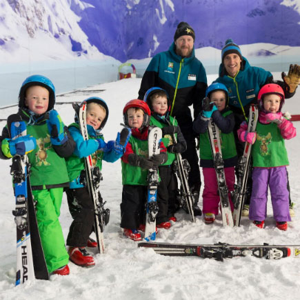 Why teaching toddlers to ski is easy at Chill Factore