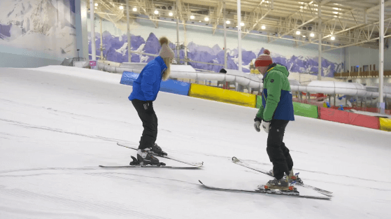 Why is Autumn a great time to learn to ski or snowboard?