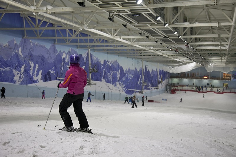 Beginner Ski Package at Chill Factore