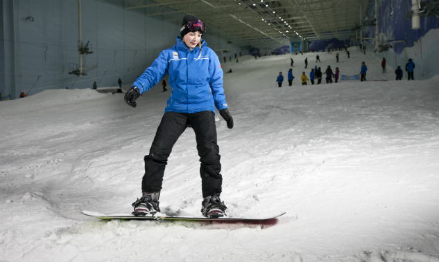 £90 SALE on Snowboard Lessons!