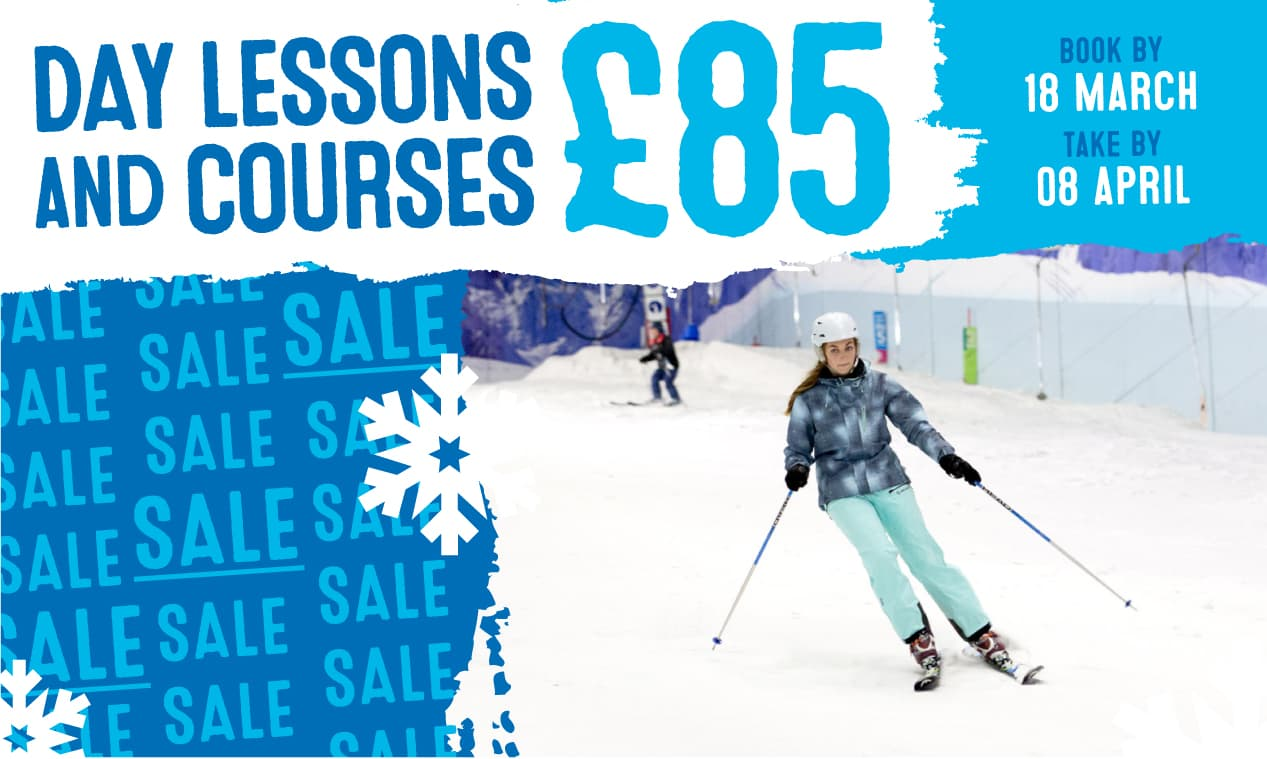 Sale! Ski Lessons Only £85!