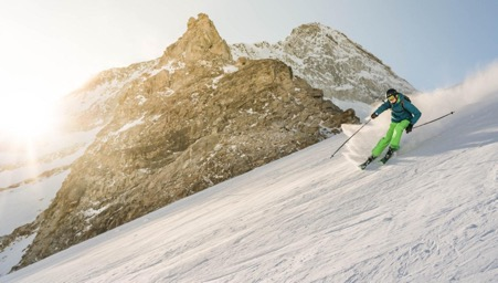 How to ski on steep slopes without dampening your performance