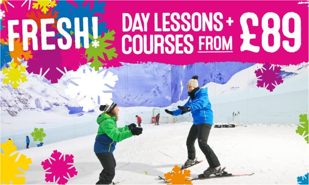 FRESH! Ski Lessons from £89!