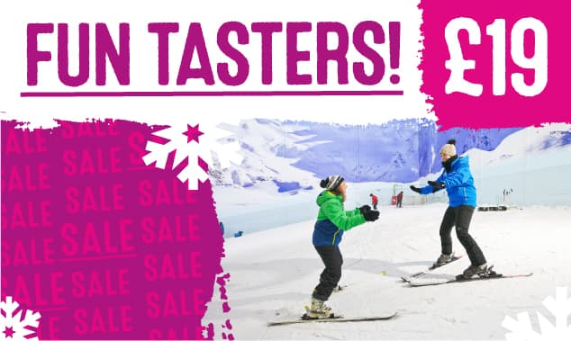 Taster lessons just £19!