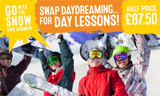 Summer Ski Lessons from £87.50!