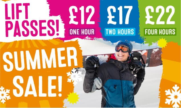 £12 SALE on Lift Passes!