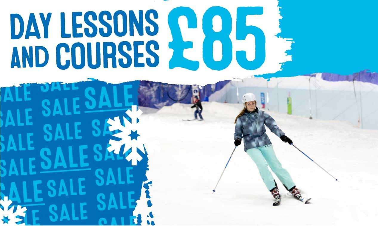 £85 SALE on Ski Lessons & Courses!