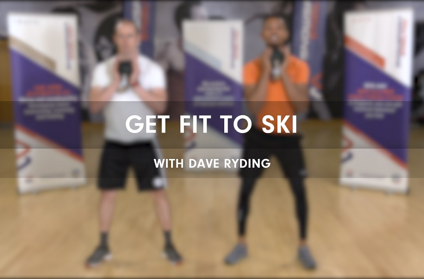 Britain's number one skier unveils new ski fitness series