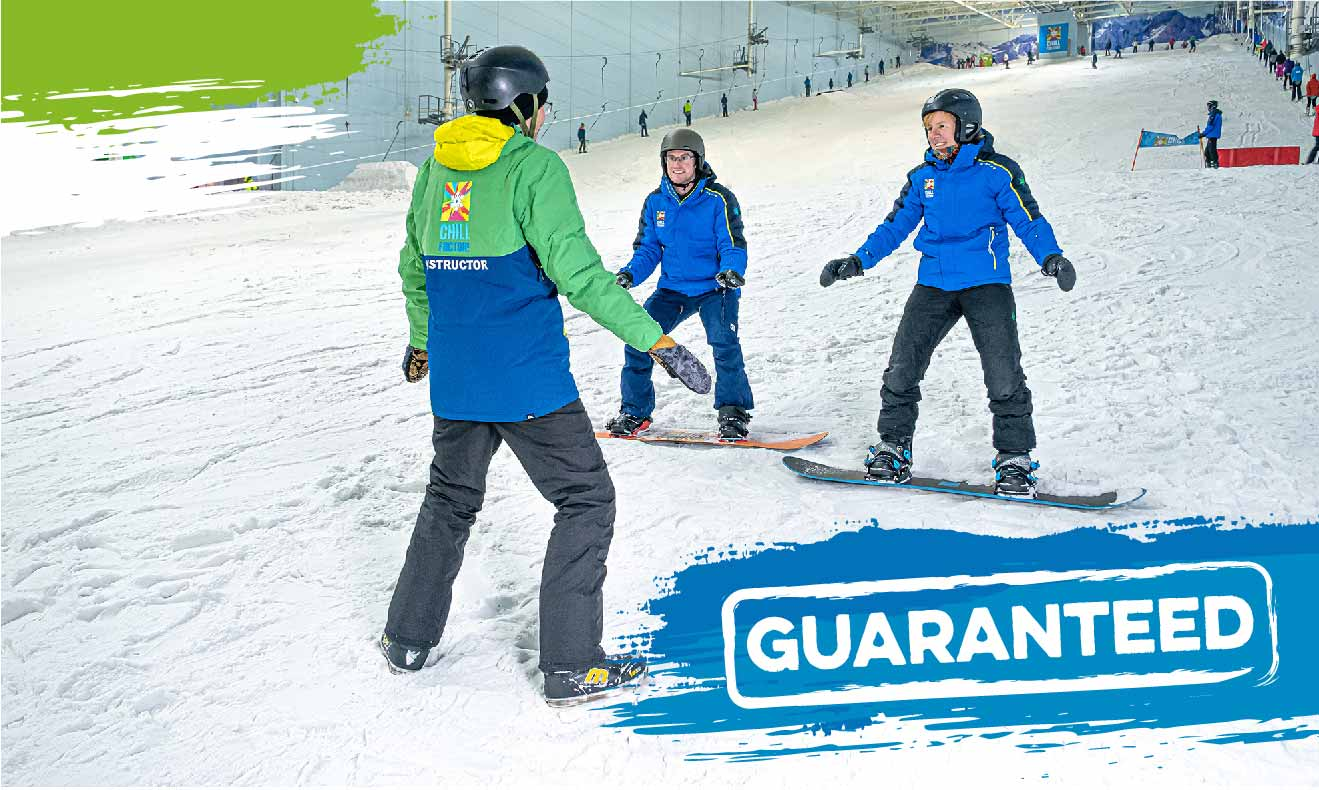 Beginner Snowboard Lessons & Courses From £125!