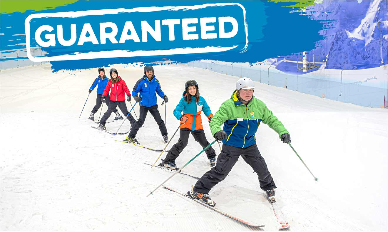 Beginner Ski Lessons & Courses From £125!