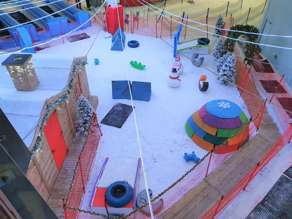 What makes Chill Factore an amazing place to see Santa with your toddler?