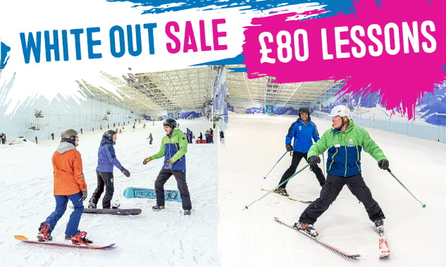 £80 SALE on Ski Lessons!