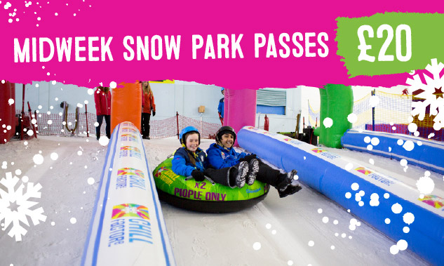Midweek Snow Park passes just £20!